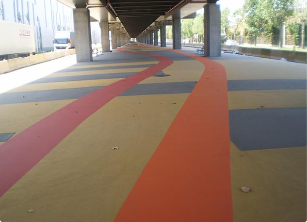Soluciones para pavimentos urbanos y peatonales